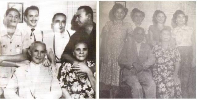 PAI JANUÁRIO E MÃE SANTANA e seus filhos