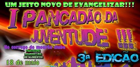 3ª Edição do 1º Pancdão da Juventude no Córrego do Mourão!!!